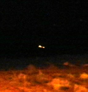 UFO Ship Two Descending