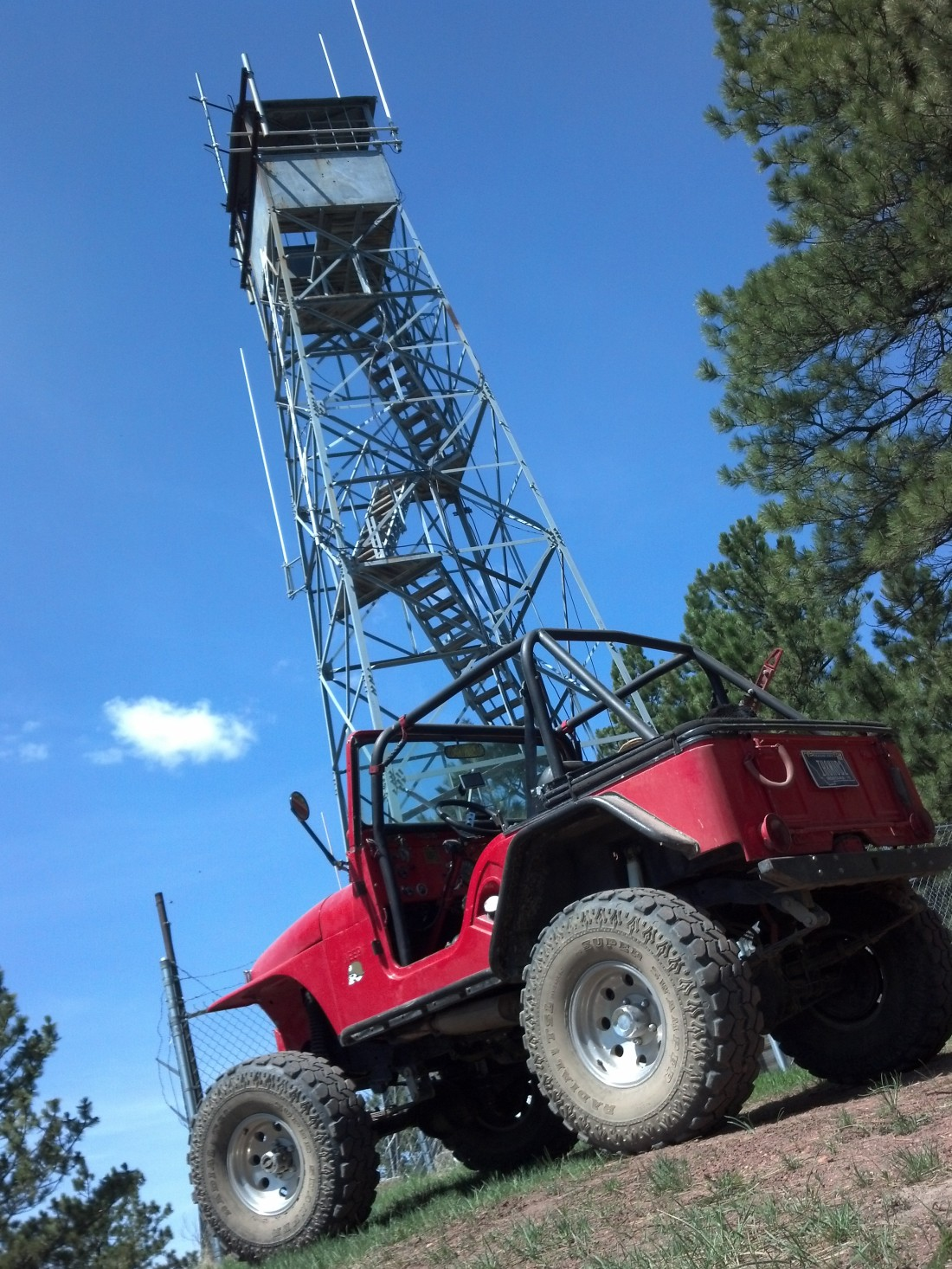 Fire Tower - near 4H Pond