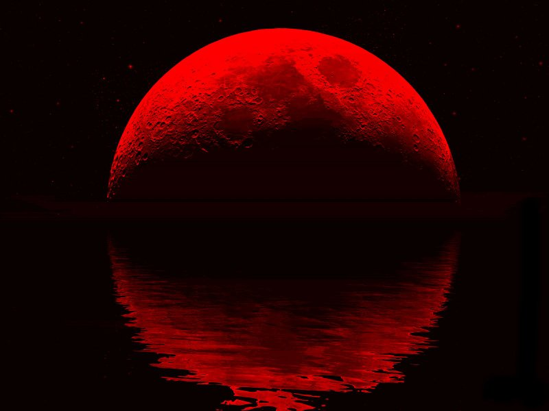 red moon what time - photo #13