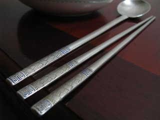 Metal lethal chopsticks