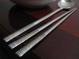 Metal lethal chopsticks