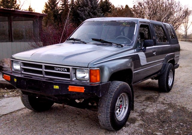 4Runner added the front bumper -